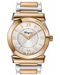 Ferragamo - 'vega' Bracelet Watch - Lyst