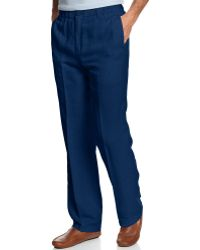 Tommy Bahama Big And Tall New Linen On The Beach Pants - Lyst