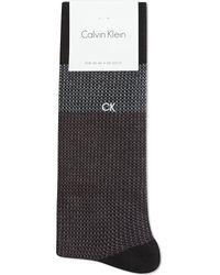 Calvin Klein Giza Jacquard Black - Lyst