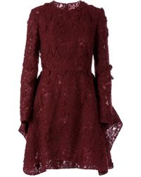 Giambattista Valli Lace Embroidery Dress - Lyst