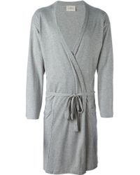 The White Briefs | Wrap-style Bath Robe | Lyst