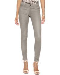 J Brand Leather Pants Alpine - Lyst