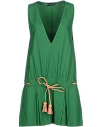 DSquared² Short Dress green - Lyst