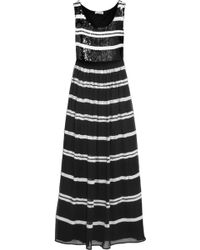 Alice By Temperley Daphne Sequin-embellished Georgette Maxi Dress - Lyst