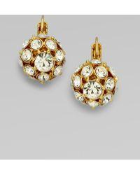 Kate Spade - Lady Marmalade Ball Leverback Earrings/Goldtone - Lyst