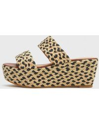 Robert Clergerie Frazzia P Wedge Sandals - Lyst
