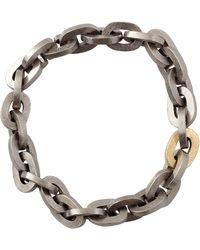 Todd Reed - Palladium Link Bracelet - Lyst