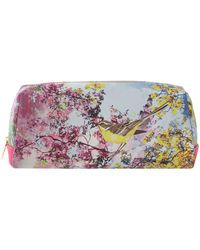 Ted Baker Multi Coloured Large Pretty Trees Cosmetic Bag - Lyst