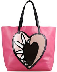 Red Valentino   Shopping With Heart Detail   Lyst