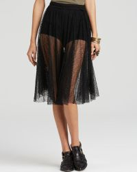 Free People Culottes - Champagne Lace Lacey - Lyst