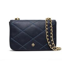 Tory Burch Robinson Stitched Adjustable Shoulder Bag - Lyst