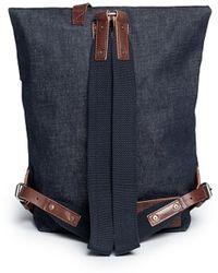 Seventy Eight Percent - 'jurgen' Denim Backpack - Lyst