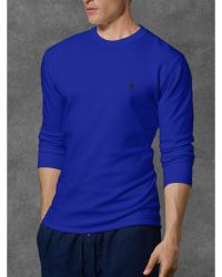 Polo Ralph Lauren Waffle-knit Crewneck Thermal - Lyst