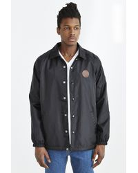 Obey Mercer Coaches Jacket - Lyst