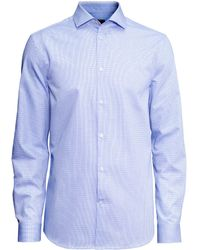 H&M Shirt In Premium Cotton - Lyst