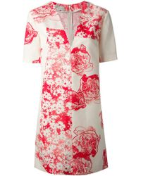 Stella McCartney Floral Print Dress - Lyst