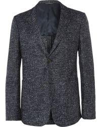 Calvin Klein Flecked Wool Blazer - Lyst