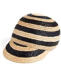 Maison Scotch | Women'S Straw Baseball Cap | Lyst