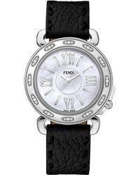 Fendi Selleria Stainless Steel  Mother-of-pearl Watch Head - Lyst