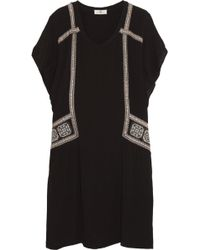 Day Birger Et Mikkelsen Folk Oversized Embroidered Crepe Dress - Lyst