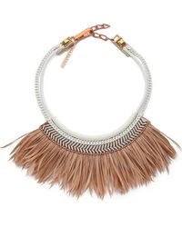 Fiona Paxton | Freja Necklace - Cream | Lyst