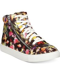 Material Girl - Everet High-top Sneakers, Only At Macy's - Lyst