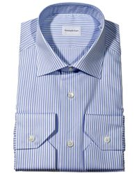 Ermenegildo Zegna Shirt Jimmy Stripped Cotton - Lyst