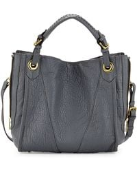 orYANY Erin Quilted Leather Tote Bag gray - Lyst