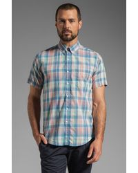 Vanishing Elephant Classic Short Sleeved Shirt - Lyst