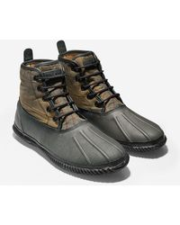 Cole Haan Trenton Waterproof Weather Boot gray - Lyst