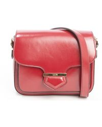 Tod's Red Leather Small Crossbody Bag - Lyst
