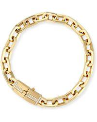Ivanka Trump - 18k Gold Moderne Diamond Chain Bracelet - Lyst