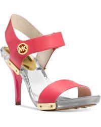 Michael Kors Michael Lani Platform Sandals - Lyst