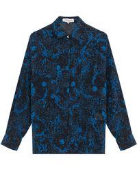 Paul & Joe Printed Silk Shirt - Lyst