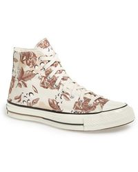 Converse Chuck Taylor All Star '70 Floral High Sneaker floral - Lyst