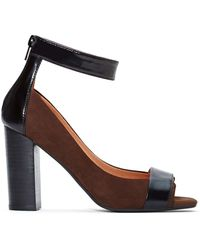 Nasty Gal Jeffrey Campbell Pruitt Leather Heel - Lyst