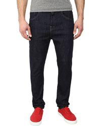Wesc Peter Jeans In Half Rinse - Lyst