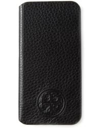 Tory Burch Logo Embossed Iphone Case - Lyst
