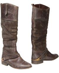 Golden Goose Deluxe Brand Brown Boots - Lyst