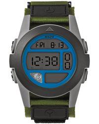 Nixon Baja Surplus Grey Watch - Lyst