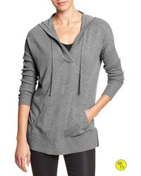 Banana Republic Factory Long Hoodie - Lyst
