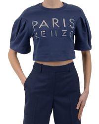 Kenzo Sweatshirt-With-Logo - Lyst