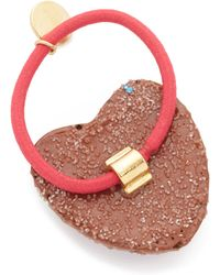 Venessa Arizaga - Sugar Heart Hair Tie - Lyst