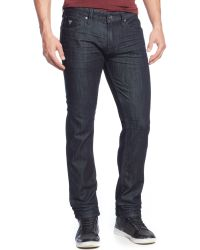 Guess Slimstraight Smokescreenwash Jeans - Lyst