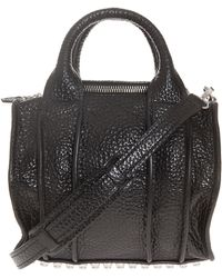Alexander Wang Rockie High Shine with Silver Studs - Lyst