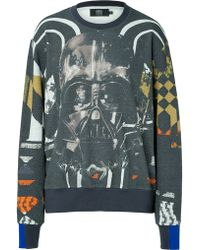 Preen Cotton Jersey Sweatshirt with Graphic Print - Lyst