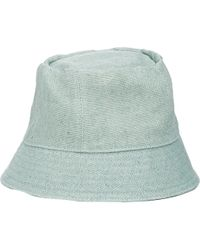 Barneys New York Cloche Hat green - Lyst