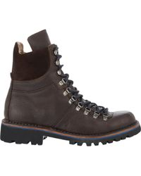 Barneys New York Hiker Boots - Lyst