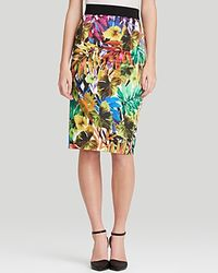 Milly Skirt - Tropical Print - Lyst