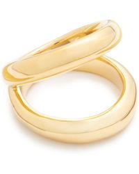 J.Crew Gold Orb Ring - Lyst
